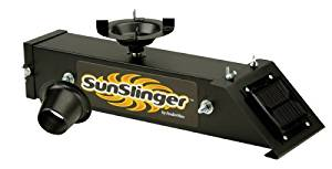 American Hunter Sun Slinger Kit Feeder Kit with Solar Charger