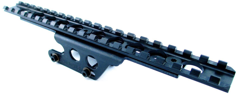 Brass Stacker MN9130SSM Scout Scope Mount for Mosin Nagant Rifles, Black