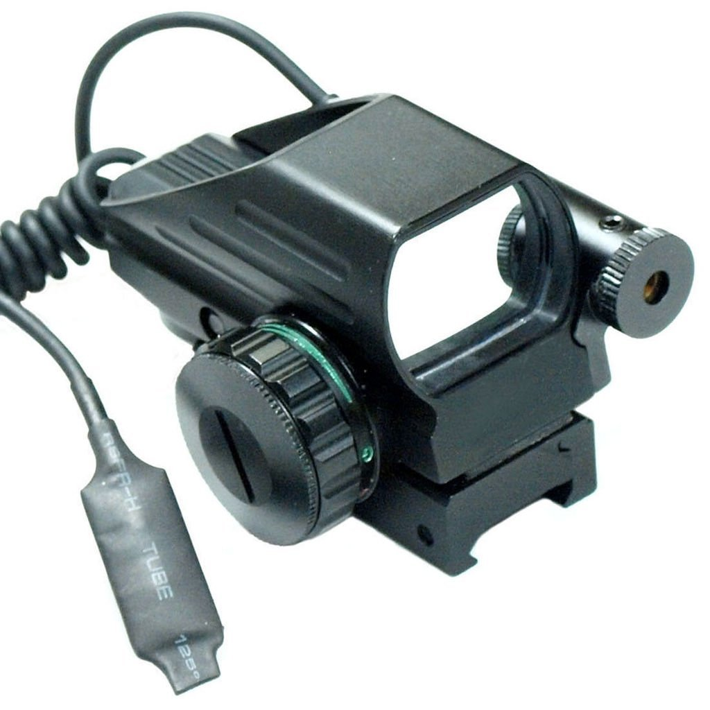 Chinoook Tactical Holographic Red / Green Reflex Scope sight combo 4 Reticles