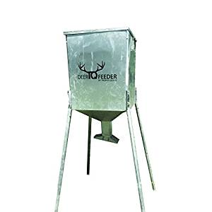Deer Feeder 225lb Capacity Rust-Proof Steel TQ225 Gravity Game Feeder
