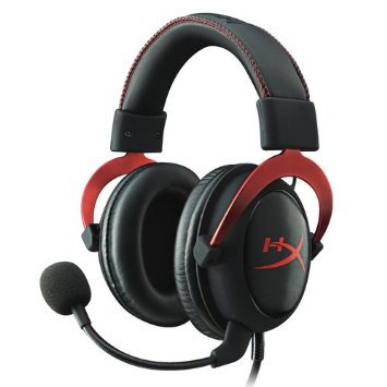 HyperX Cloud II Gaming Headset for PC & PS4 & Xbox One - Red (KHX-HSCP-RD)