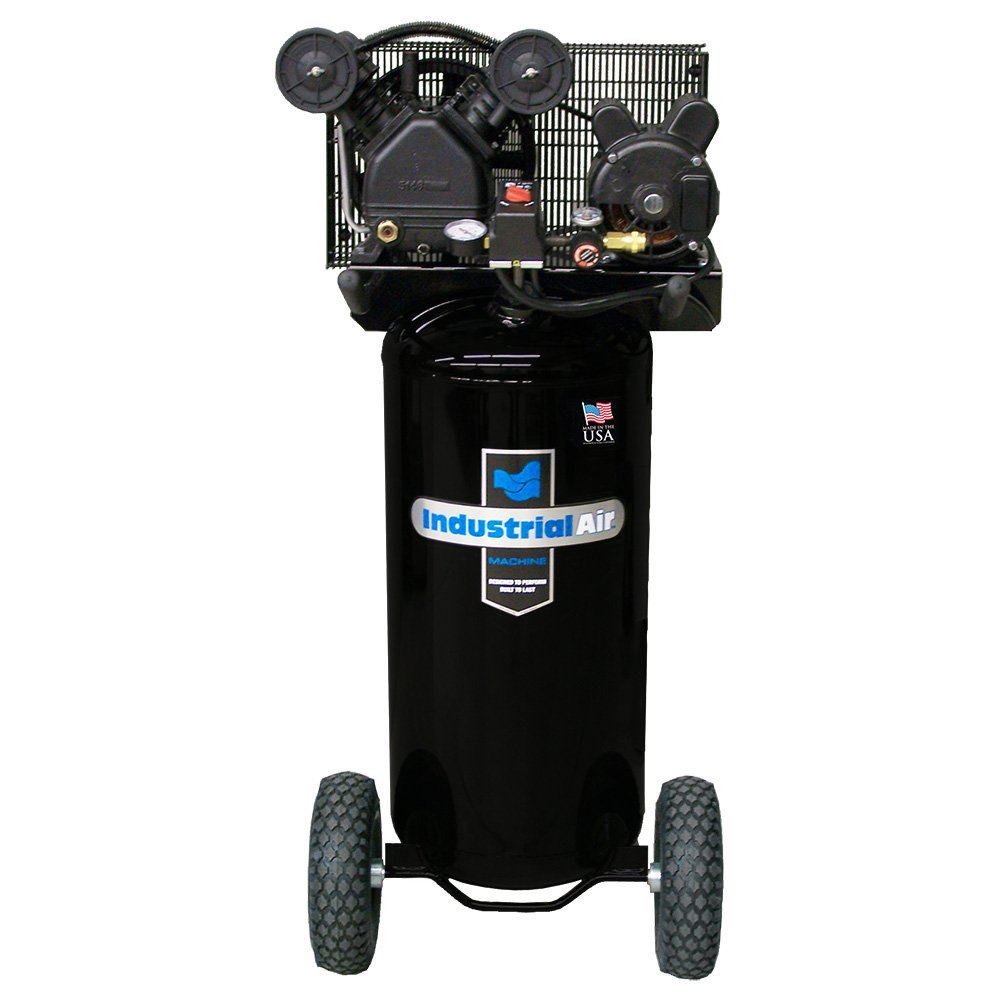 Industrial Air IL1682066.MN 20-Gallon Belt Driven Air Compressor with V-Twin Cylinder