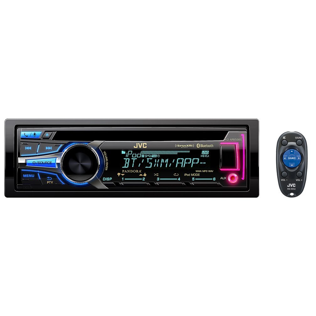 JVC KD-AR959BS Arsenal Series In-Dash CD Receiver
