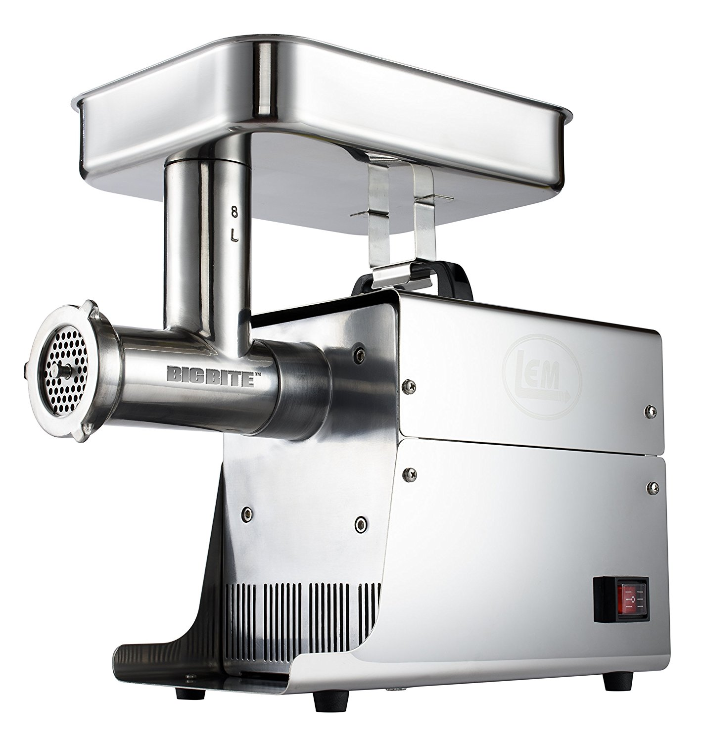 LEM Products W779A Stainless Steel Big Bite Electric #8-Meat Grinder (.35-HP)