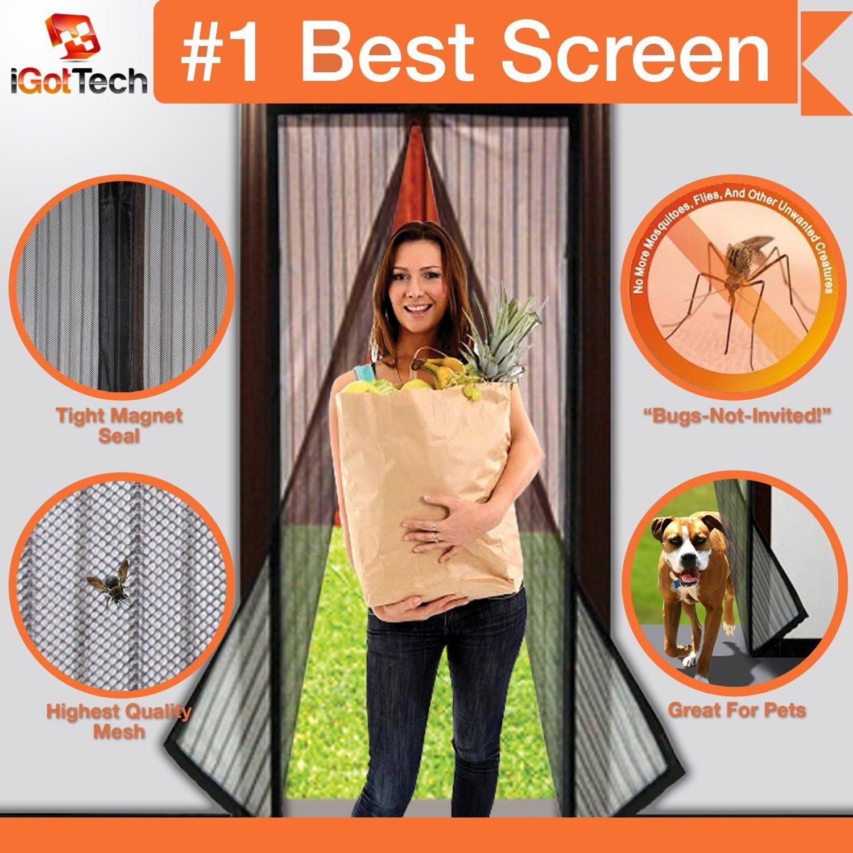 The 11 best magnetic screen door in 2017 reviews buyer guide 1 magnetic screen door full frame velcro vtopaller Images