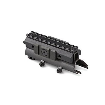 Matte Black Steel SKS Rifle See Through Cover Replacement High Profile Scope Weaver Picatinny Mount Accessory System