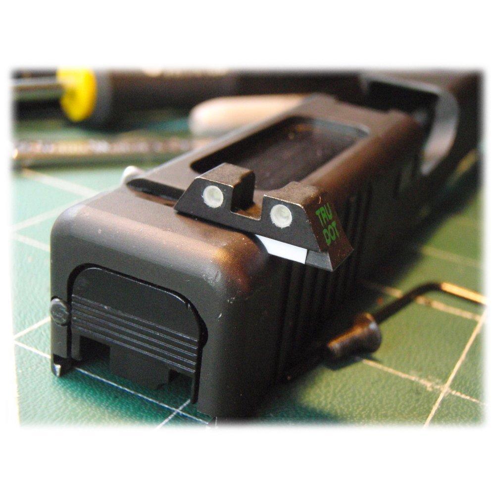 Meprolight Glock Night Sight Fits Glock 17,19,22,23,31,32,33,34,35,37,38 and 39 Gap Caliber