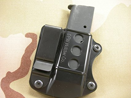 Single Stack Tuckable IWB Mag Pouch. Fits 9mm, 40 cal, 45 ACP