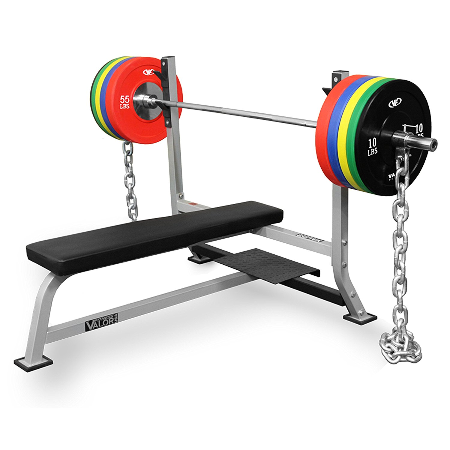 Valor Fitness BF-7 Olympic Bench with Spotter