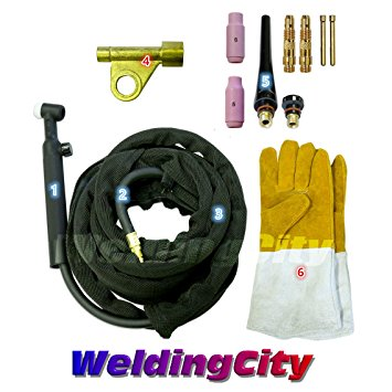 WeldingCity TIG Welding Torch WP-17FV-12R