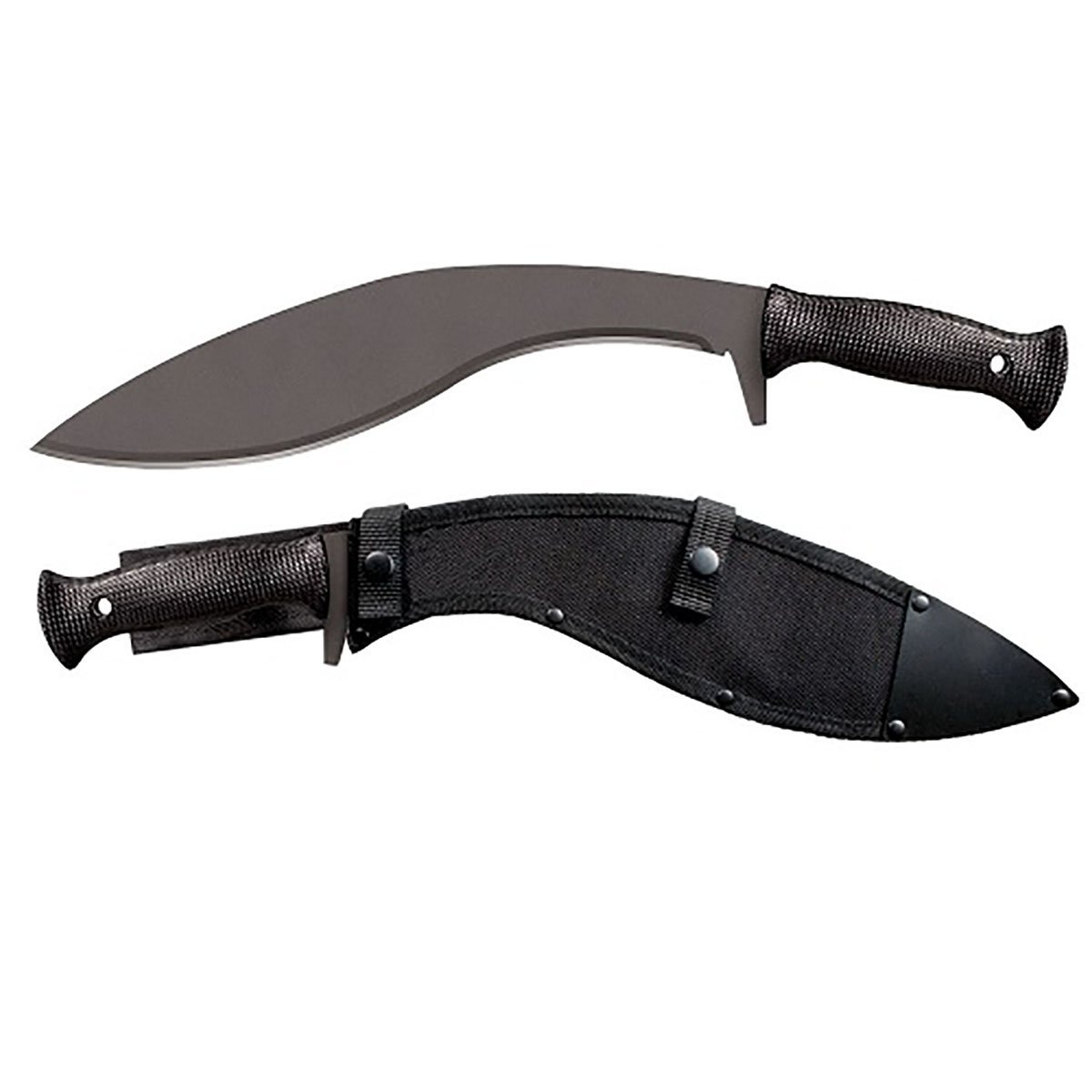 4000352 Cold Steel Kukri Plus Machete with Sheath - 97Kmps