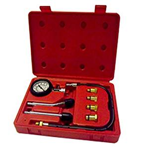 8 Pc Spark Plug Cylinder Compression Tester Test Kit Professional Gas Engine