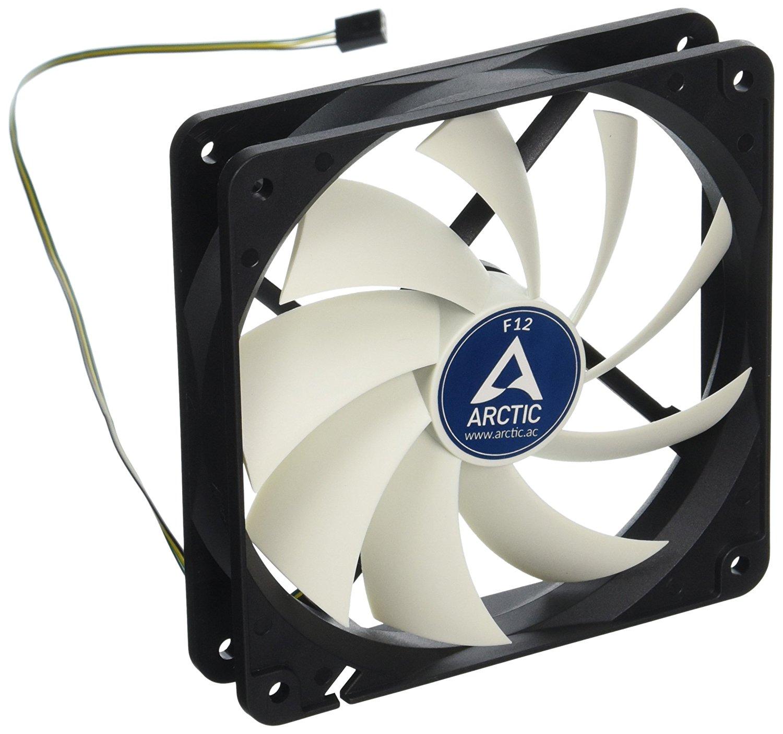 Arctic F12 - Value pack 120mm Standard Low Noise Case Fan Cooling, 5 Pack