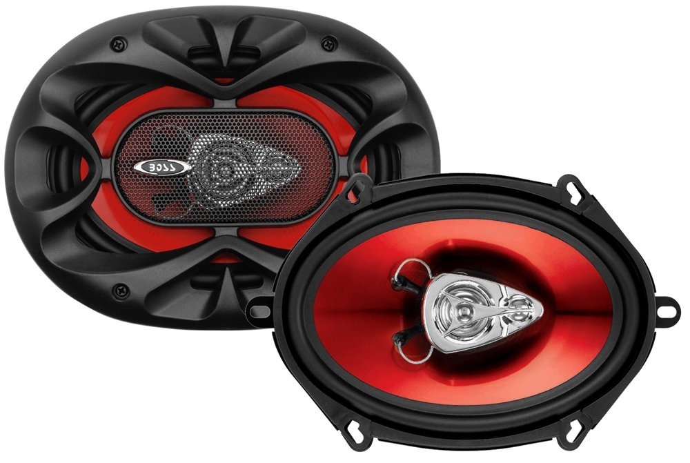 "BOSS AUDIO CH5730 Chaos Exxtreme 5"" x 7"" 3-way 300-watt Full Range Speakers"