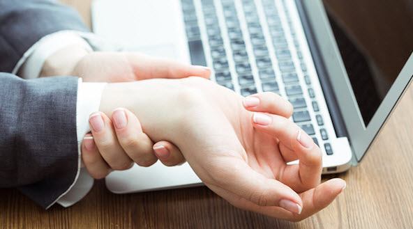 how to avoid carpal tunnel mouse