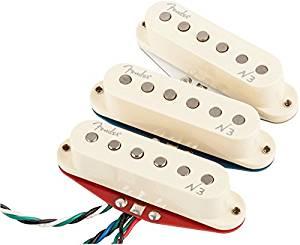 Fender N3 Noiseless Strat Pickups