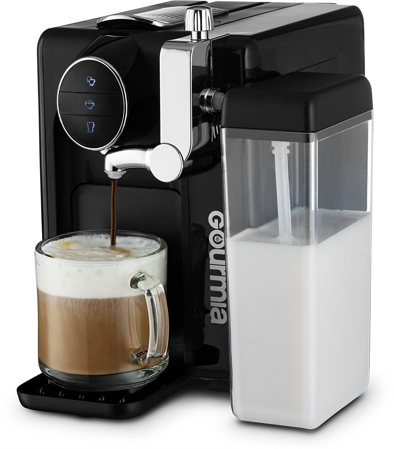 espresso and latte machine