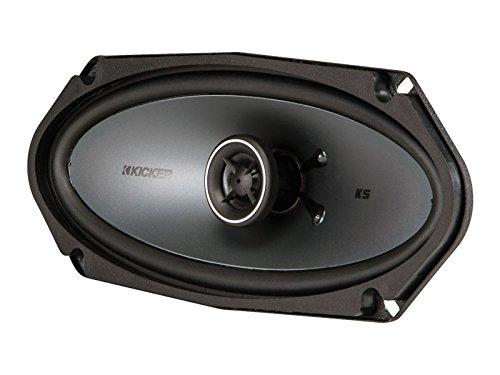 "Kicker 41KSC4104 4x10"" 2-Way Coaxial Speaker - Pair (Black)"