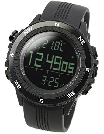 [LAD WEATHER] German Sensor Digital Compass Altimeter / Barometer/ Weather Forecast/ Outdoor Climbing/running/walking Sport Watch