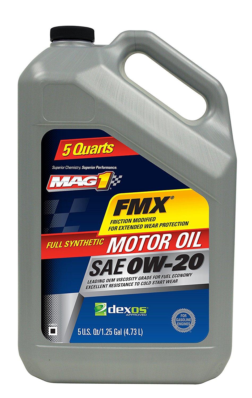 MAG 1 20139 0W-20 Full Synthetic Motor Oil, 5 quart