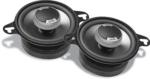 Polk Audio DB351 3.5-Inch Coaxial Speakers (Pair, Black)