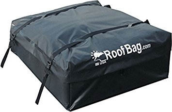 RoofBag Explorer Waterproof Soft Car Top Carrier for Any Car Van or SUV - Made in the USA   1-Year Warranty   Ships Today