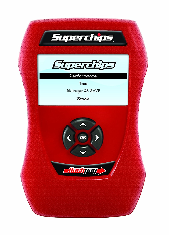 Superchips 1855 Flashpaq for Ford Powerstroke F250, F350, F450 Diesel 6.0L, 6.4L and 7.3L