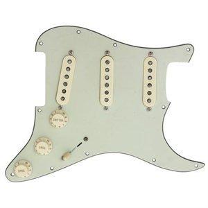 Twilight Fender Custom Shop N3 Noiseless Stratocaster Strat Pickup Aged White on Mint Green Loaded Pickguard Regular 11 Hole