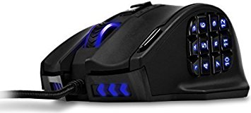 UtechSmart Venus 16400 DPI High Precision Laser MMO Gaming Mouse [ IGN's PICK]