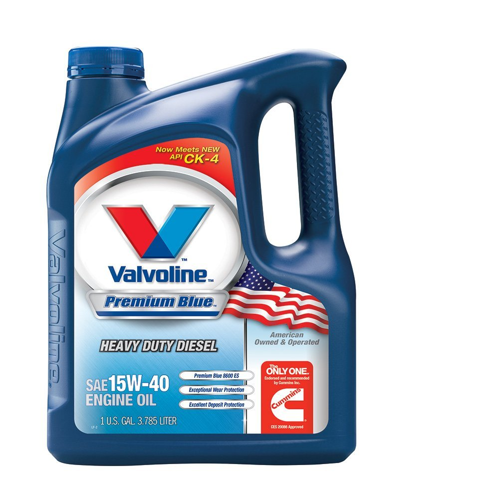 Valvoline VV70509 Premium Blue 15W-40 Motor Oil - 1 Gallon Jug