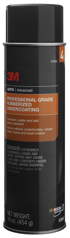 3M 03584 Professional Grade Rubberized Undercoating - 16 oz