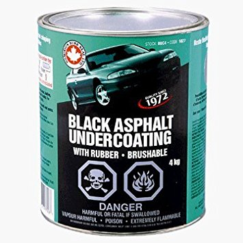 Oem Approved Brushable Asphalt-Bitumen Base Undercoating - GALLON