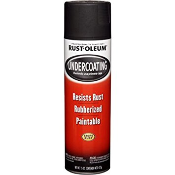 Rust-Oleum 248657 Automotive 15-Ounce Under Coat Spray, Rubberized Black