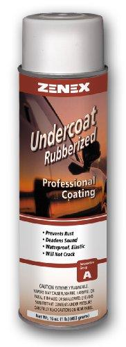 Zenex Undercoat Premium Rubberized Undercoating - 12 Cans (Case)