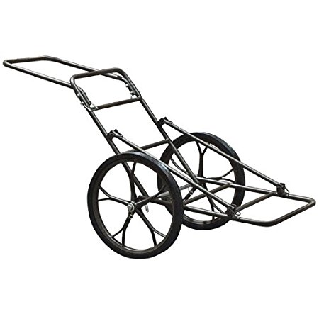 Best Choice Products Deer Game Hauler Utility Hunting Accessories Gear Dolly Cart, 500 lb
