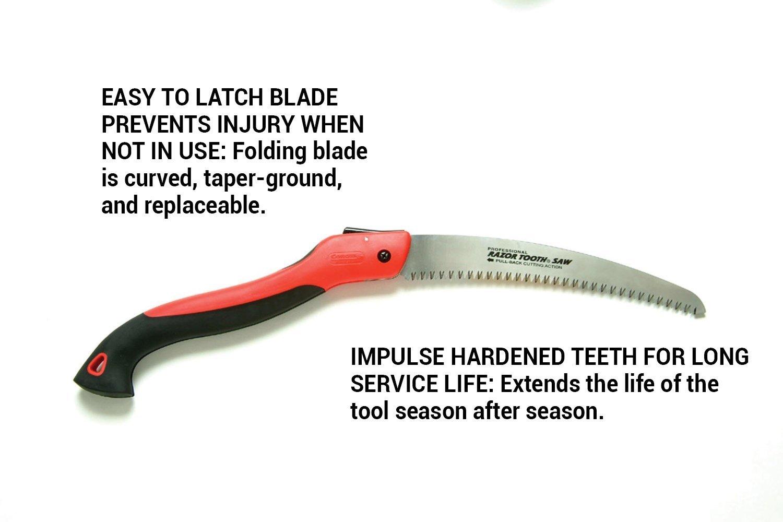 Corona RS 7265D Razor Tooth Folding Pruning Saw