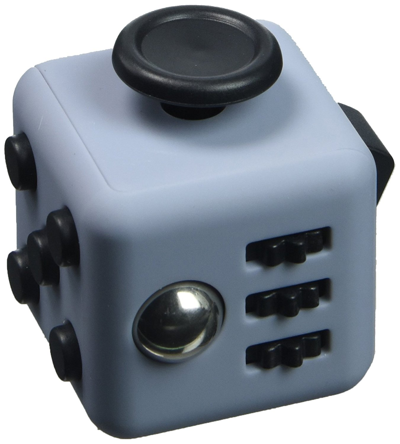 Focus Cube - (6 Colors) Fidget Cube Toy For Anxiety Stress Helps Focusing Fidget Toy Focus Toy for Kids & Adults - Stress Reducer Relieves ADHD Anxiety Ceramic Cube Bearing
