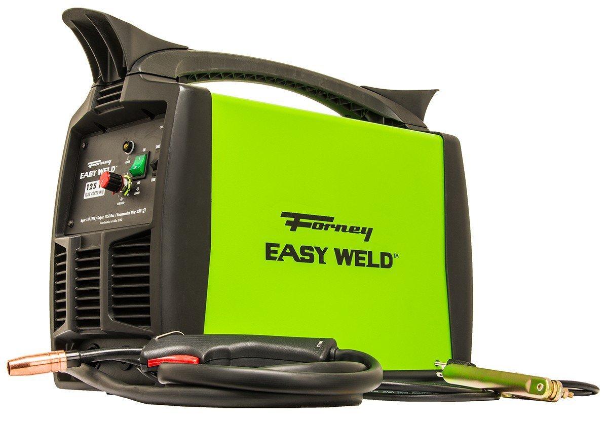 Forney Easy Weld 299 125FC Flux Core Welder, 120-Volt, 125-Amp
