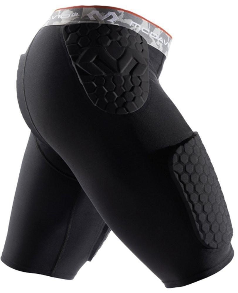 McDavid 7991 Hex Short with Contoured Wrap Around Thigh Black