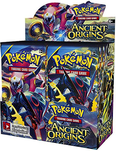 PokÃmon Trading Card Game XY-Ancient Origins Display Booster Box (36 Booster Packs)