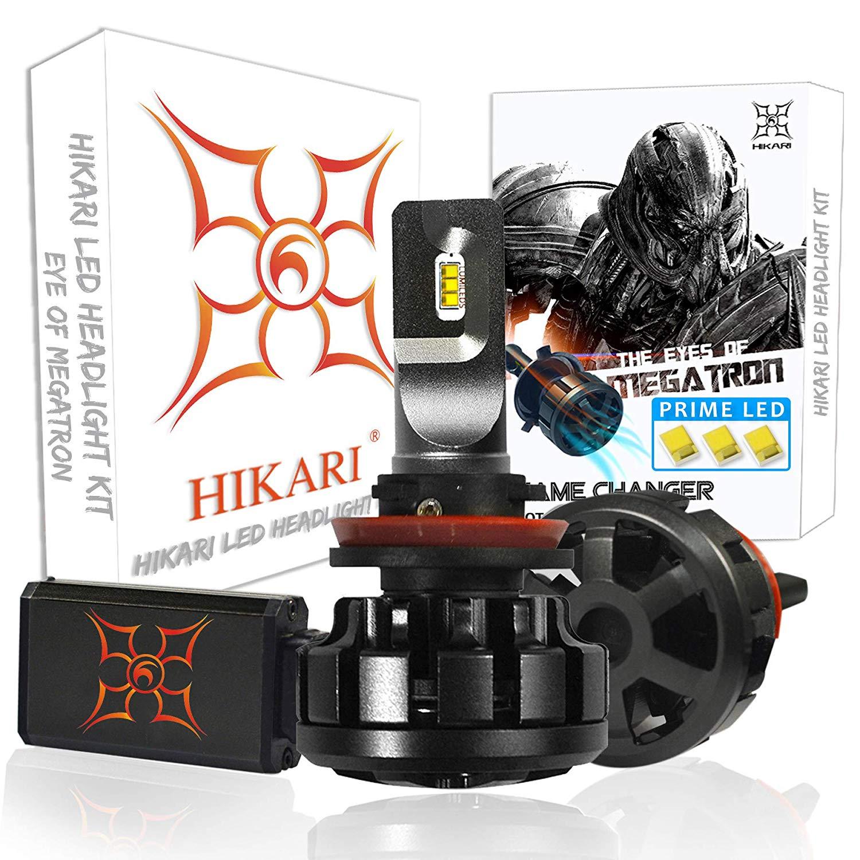 HIKARI Ultra LED Headlight Bulbs Conversion Kit -H11