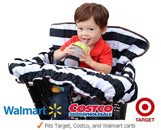 Lumiere Baby Shopping Cart Cover for Baby and Toddler